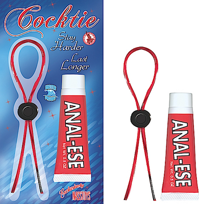 Cocktie Red And Anal Ease Kit