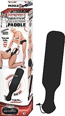 Dominant Submissive Paddle Black