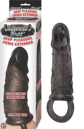 Deep Pleasure Penis Extender - Black