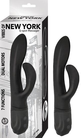 Vibes Of New York G-Spot Massager Black