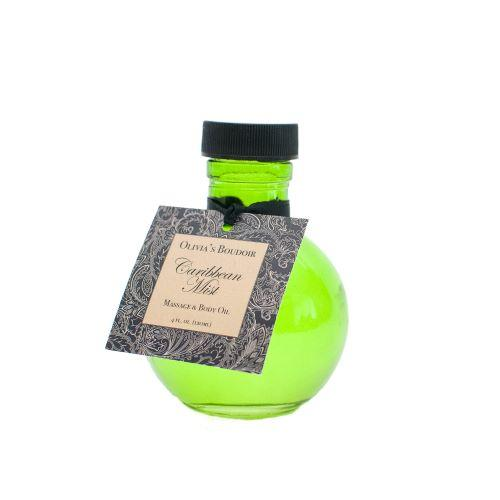 Olivia's Boudoir Massage Oil Caribbean Mist 4 fl oz