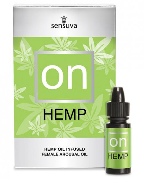 On For Her Hemp Oil .17oz Bottle