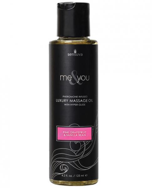 Me & You Massage Oil Grapefruit Vanilla 4.2oz