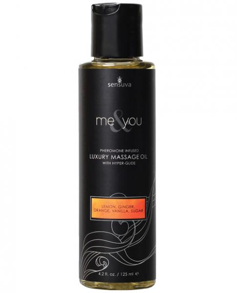 Me & You Massage Oil Sugar & Citrus 4.2oz