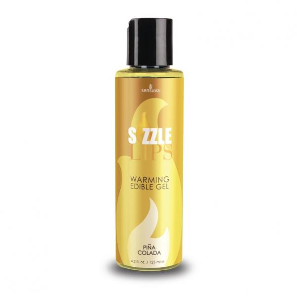 Sizzle Lips Pina Colada Warming Gel 4.2oz