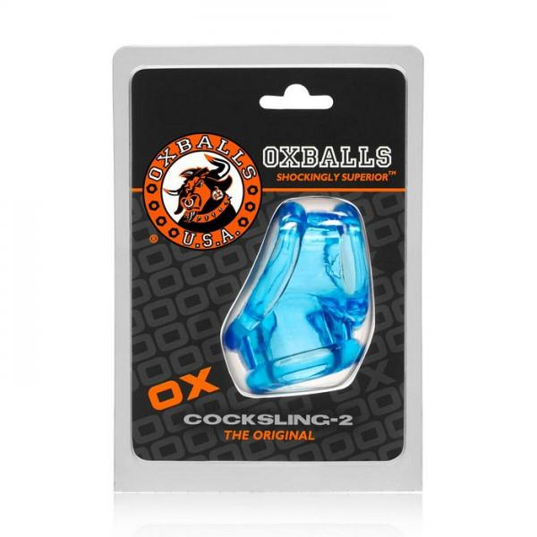 Oxballs Cocksling 2 Cock & Ball Sling Ice Blue