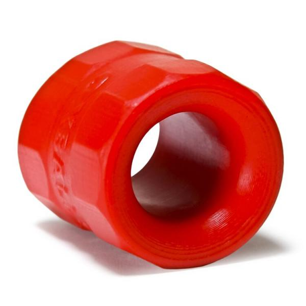 Bullballs 1 Ballstretcher Silicone Smoosh Red