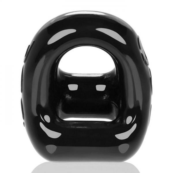 Oxballs 360 2-Way Cockring & Ballsling Black