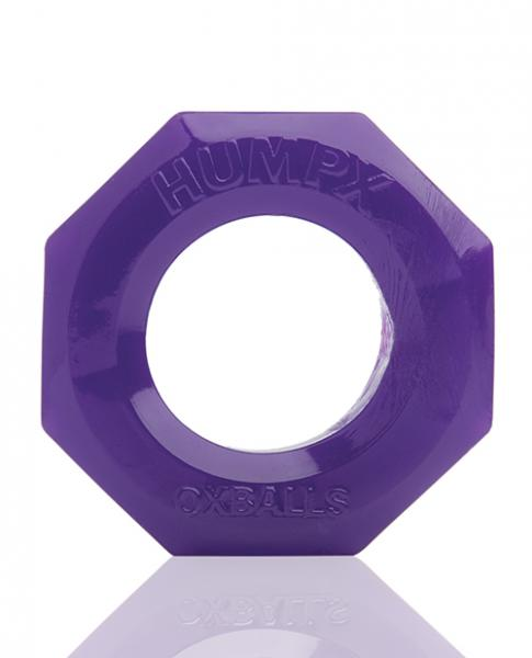 Oxballs Humpx Extra Large Cock Ring Eggplant Purple