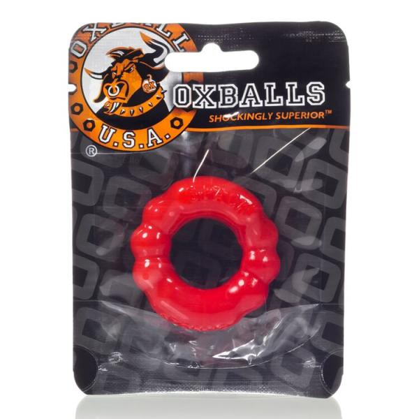 The Six Pack Cock Ring Red