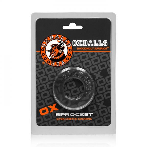 Sprocket Cock Ring Clear