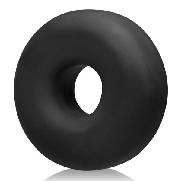 Big Ox Cockring Oxballs Silicone TPR Blend Black Ice