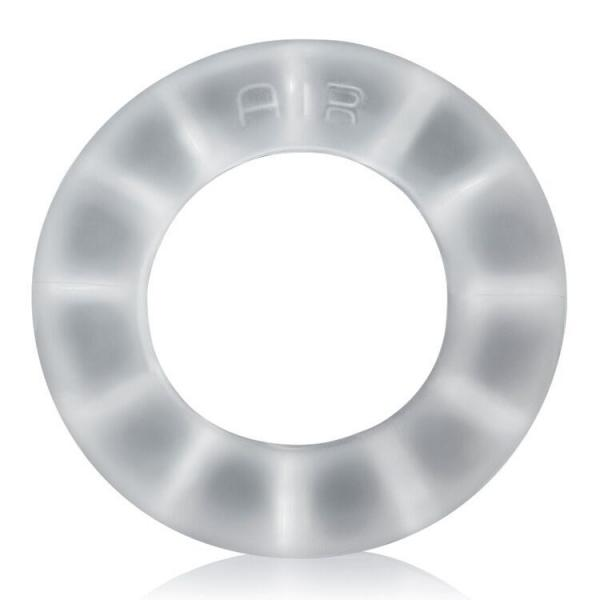Air Airflow Cock Ring Silicone TPR Blend Cool Ice
