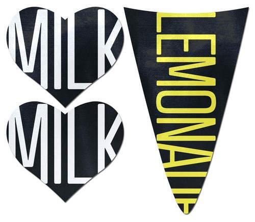 Pastease Bikini Set Milk Milk Lemonade Pasties & Merkin