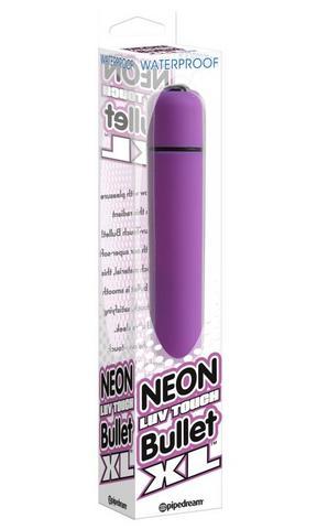 Neon Luv Touch Bullet XL Purple Vibrator