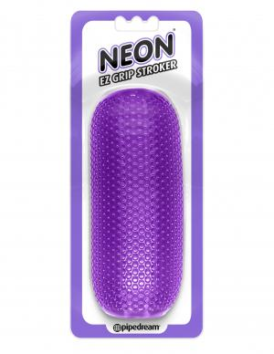 Neon EZ Grip Stroker Purple