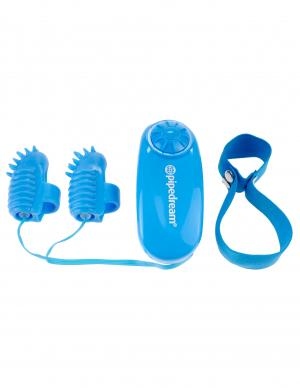 Neon Magic Touch Finger Fun Vibrator Blue