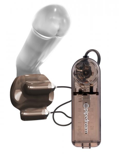Classix Dual Vibrating Ball Teaser Sleeve Smoke
