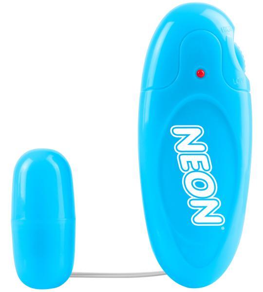 Neon Mega Bullet Vibrator Blue