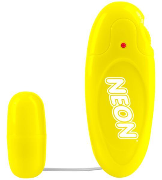 Neon Mega Bullet Vibrator Yellow