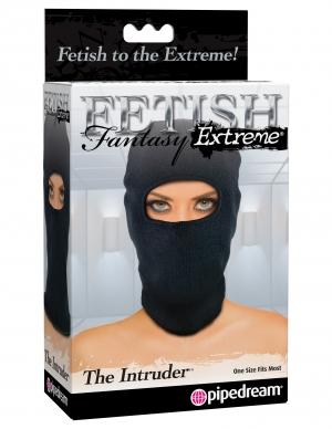 Fetish Fantasy Intruder Hood Black O/S