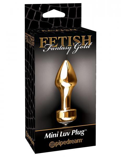 Fetish Fantasy Gold Mini Luv Plug