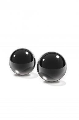 Fetish Fantasy Black Glass Ben-Wa Balls Small