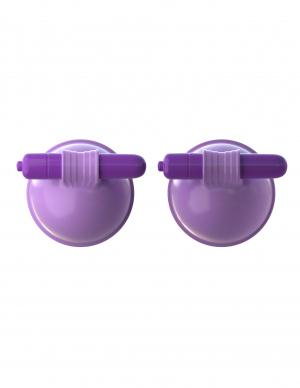 Fantasy For Her Vibrating Breast Suck-Hers Purple