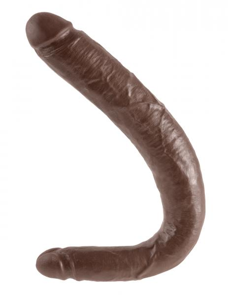 16 Inch Tapered Double Dildo - Brown Dildos PD551729