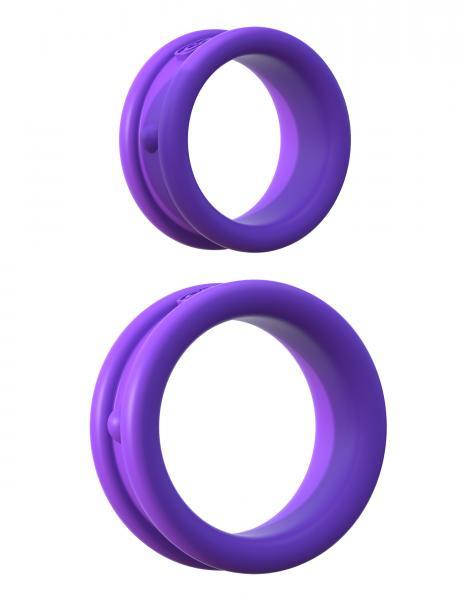 Fantasy C-Ringz Max Width Silicone Rings Purple