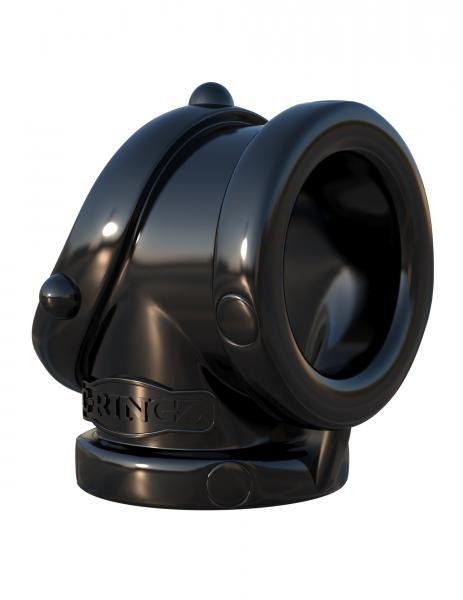 Fantasy C-Ringz Rock Hard Cock Pipe Black