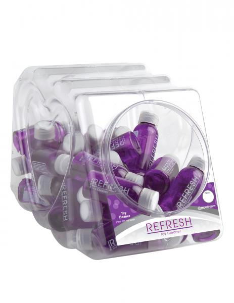 Refresh Toy Cleaner 1oz 48 Pieces Fishbowl