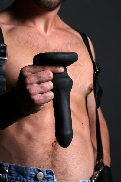 Hump Gear XL Butt Plug - Black