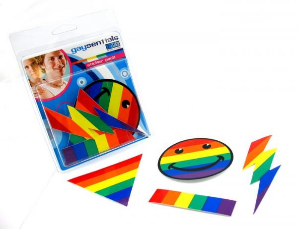 Gaysentials Assorted Sticker Pack B