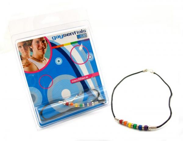 Gaysentials Ceramic Bead Necklace 18 inches