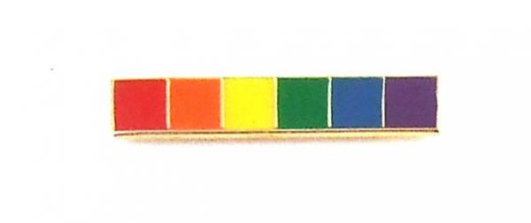 Gaysentials Lapel Pin Rainbow Bar