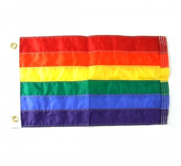 Gaysentials Rainbow 2 feet by 3 feet Flag