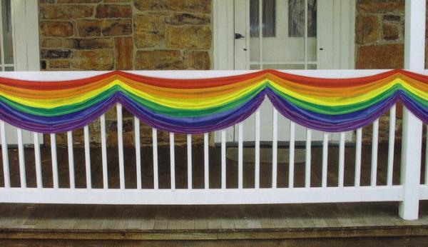 Gaysentials Rainbow Bunting Decoration + 5 feet