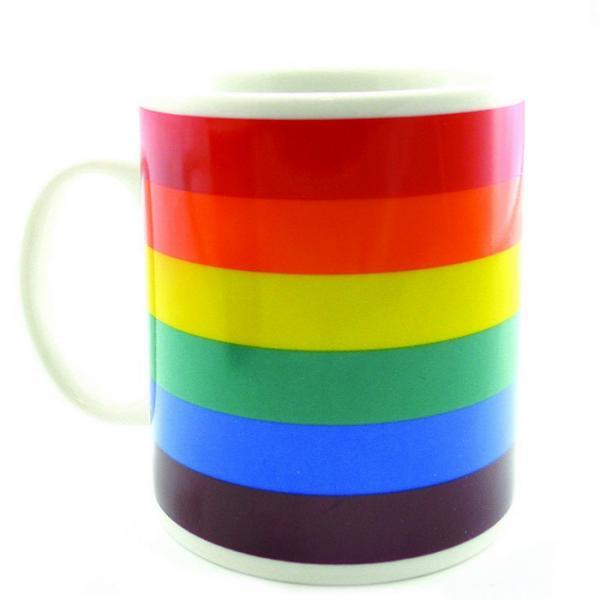 Gaysentials Rainbow Mug