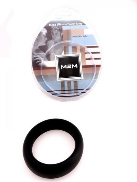 M2M Ring Silicone Mega Black