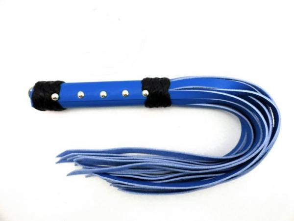 M2M Whip Leather Strap 20 inches Blue