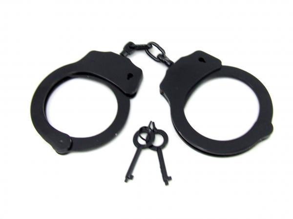 M2M Handcuffs Double Locking Black