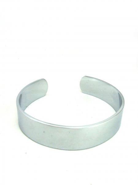 M2M Armband Steel Medium Chrome