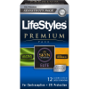 Lifestyles Premium Variety Pack 12 Condoms
