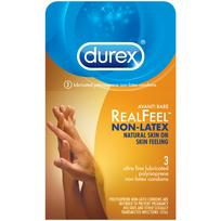 Durex Avanti Bare Real Feel Non Latex Condoms 3pk Extras R89455