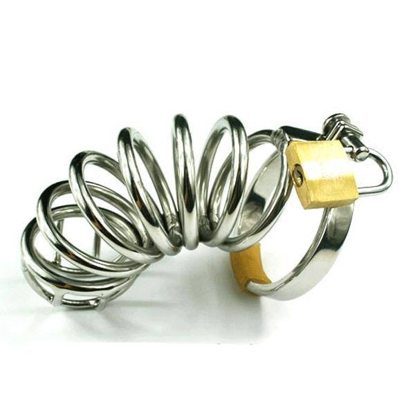 Rapture Stainless Steel Six Ring Cock Cage