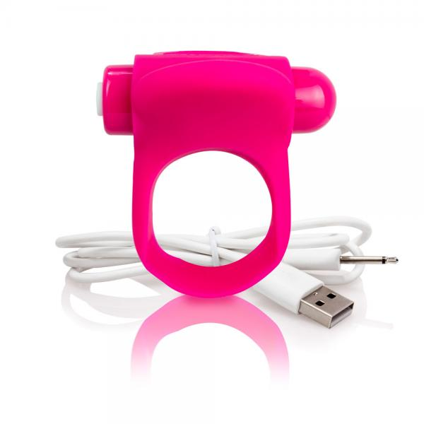 You Turn Plus Ring Vibrator Strawberry Pink