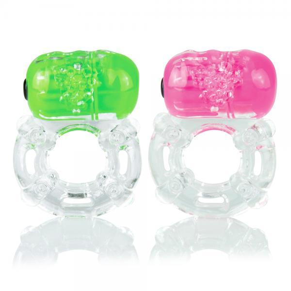Color Pop Big O Vibrating Ring Assorted