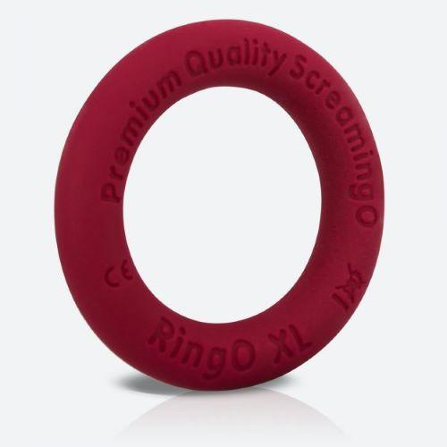 Screaming O Ringo Ritz XL Red Cock Ring