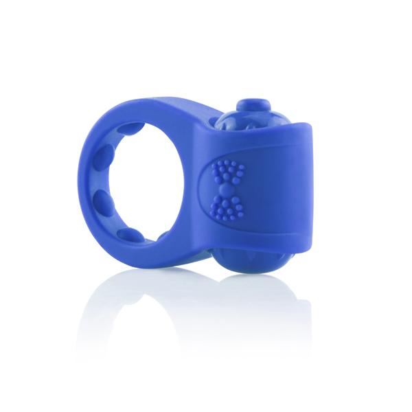 PrimO Tux Blue Vibrating Ring